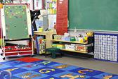 Kindergarten classroom — Stock Photo
