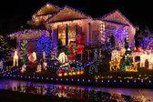 Christmas lights — Foto Stock