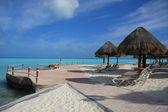 Caribisch strand — Stockfoto