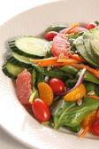 Spinach salad — Zdjęcie stockowe