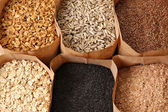 全谷物食品 — 图库照片