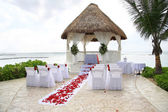 Tropical wedding — Stok fotoğraf