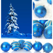 Blue Christmas — Stock Photo #11284719