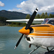 Float plane - Foto Stock