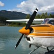 Float plane - Stock Photo