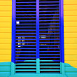 Caribbean window - Stock Photo