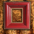 Antique picture frame — Stock Photo