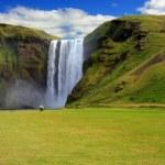 Waterfall, Iceland — Stock Photo