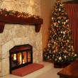 Christmas tree at home. — Stock Photo #11286484