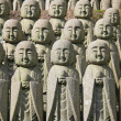Jizo stone statues - Stock Photo