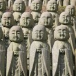 Jizo stone statues — Stock Photo