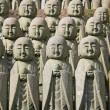 Jizo stone statues — Stock Photo #11286885