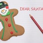 Dear Santa letter — Stock Photo
