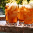 Stock Photo: Ice tea