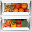 Stock Photo: Healthy fridge