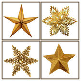 Christmas stars — Stock Photo