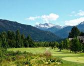 Beautiful golfcourse — Stock Photo