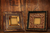Antique picture frames. — Stock Photo