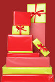 Christmas presents — Стоковое фото