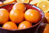 Orange still life — Stock Photo