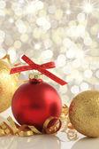Christmas ornaments — 图库照片