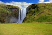 Wodospad, islandia — Zdjęcie stockowe