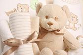 Baby gift basket — Stock Photo