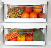 Healthy fridge — Stock Photo