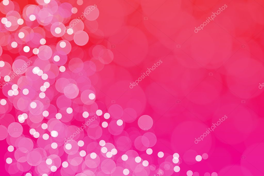 Christmas boke in red and pink.  Stock Photo #11284820