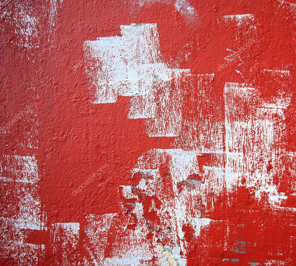Grunge red wall  Stock Photo #11286793