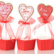 Valentine cookies — Stock Photo #11340314