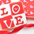 Royalty-Free Stock Photo: Valentine cookie