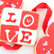 Valentine cookie — Stock Photo