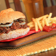 Pulled pork sandwich - Foto de Stock