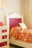 Little girls bedroom — Stock Photo