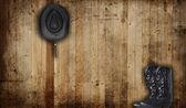 Kovboy çizmeleri — Stok fotoğraf