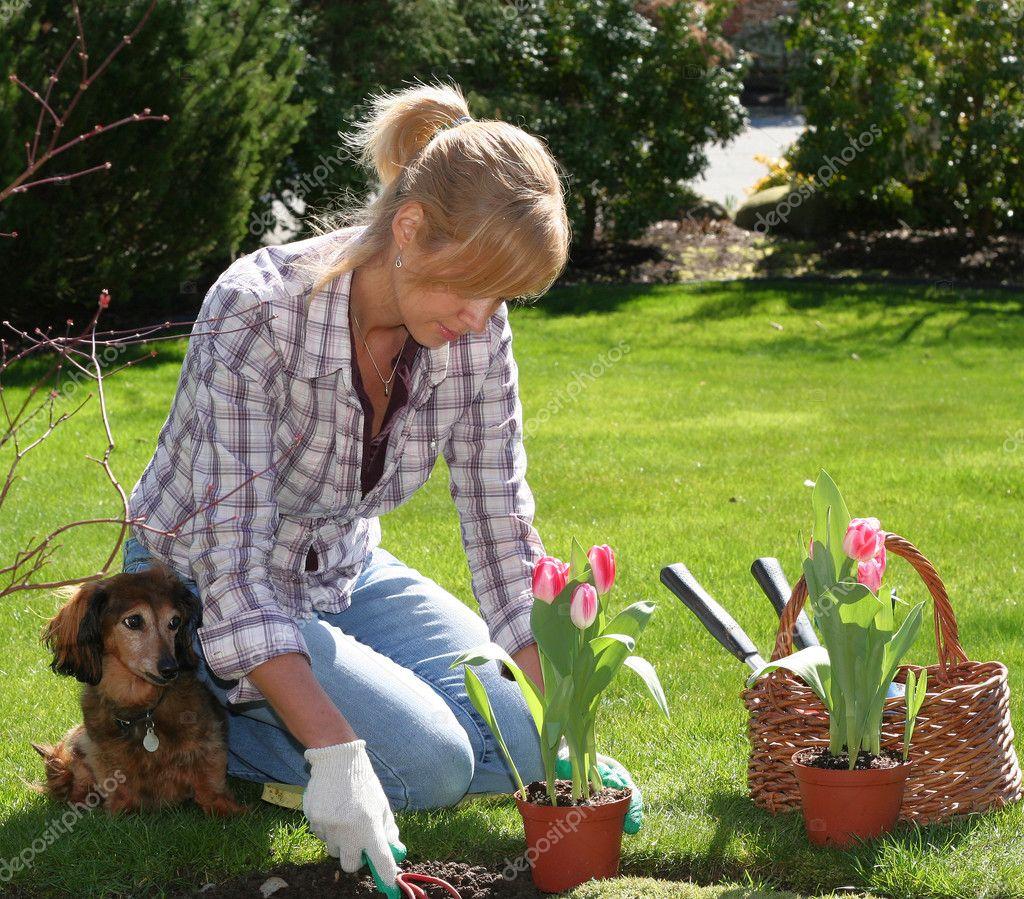 Садовник и транс 5 фотография