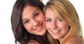 Best girl friends. — Stock Photo