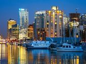 Vancouver, British Columbia Harbour — Stock Photo