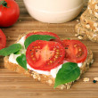 Tomato sandwich — Stock Photo