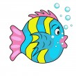 Toy fish — Stock Vector