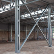 Steel frame structure — Stock Photo