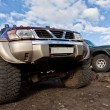 Stock Photo: Special off road cars