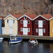 Scandinavian Huts - Stock Photo