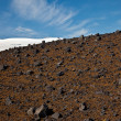 Volcanic  terrain - Stock Photo