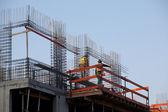 Construction detail of next floor — Stock Photo