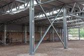 Frame met stalen structuur — Stockfoto