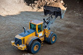 Wheel loader — Stockfoto