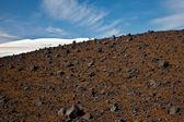 Volcanic terrain — Stock Photo