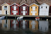 Scandinavian coast — Stock Photo
